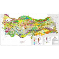 Türkiye 1/1.000.000 Jeoloji Haritası JPEG