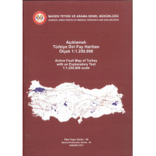 Açıklamalı Türkiye Diri Fay Haritası Ölçek 1:1.250.000