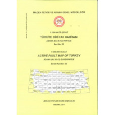 1:250.000 Ölçekli Türkiye Diri Fay Haritası Adana (NJ 36-12) Paftası