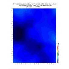 J 51 paftası 1/100.000 ölçekli Rejyonal Gravite (Bouguer Anomali) Haritası