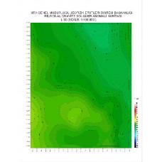 L 30 paftası 1/100.000 ölçekli Rejyonal Gravite (Bouguer Anomali) Haritası