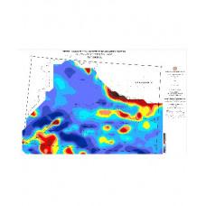 İSTANBUL paftası 1/500.000 ölçekli Havadan Rejyonal Manyetik Haritası