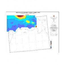 CİZRE paftası 1/500.000 ölçekli Havadan Rejyonal Manyetik Haritası