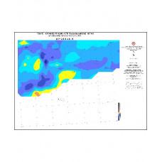 DİYARBAKIR paftası 1/500.000 ölçekli Havadan Rejyonal Manyetik Haritası