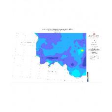 DENIZLİ paftası 1/500.000 ölçekli Havadan Rejyonal Manyetik Haritası