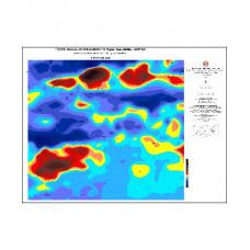 ERZURUM paftası 1/500.000 ölçekli Havadan Rejyonal Manyetik Haritası