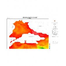İSTANBUL paftası 1/500.000 ölçekli Rejyonal Gravite (Bouguer Anomali) Haritası