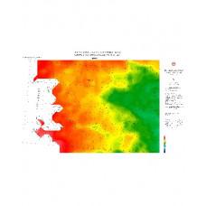 İZMİR paftası 1/500.000 ölçekli Rejyonal Gravite (Bouguer Anomali) Haritası