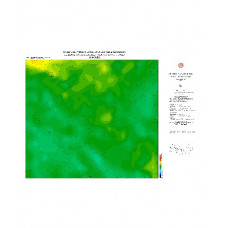 ANKARA paftası 1/500.000 ölçekli Rejyonal Gravite (Bouguer Anomali) Haritası