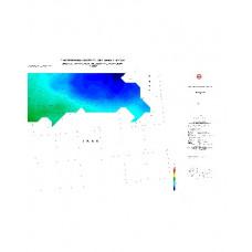 CİZRE paftası 1/500.000 ölçekli Rejyonal Gravite (Bouguer Anomali) Haritası