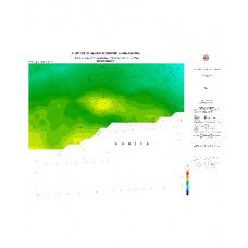 DİYARBAKIR paftası 1/500.000 ölçekli Rejyonal Gravite (Bouguer Anomali) Haritası