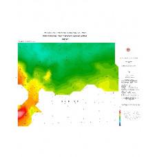 HATAY paftası 1/500.000 ölçekli Rejyonal Gravite (Bouguer Anomali) Haritası