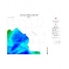 KARS paftası 1/500.000 ölçekli Rejyonal Gravite (Bouguer Anomali) Haritası