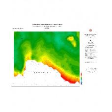 KONYA paftası 1/500.000 ölçekli Rejyonal Gravite (Bouguer Anomali) Haritası