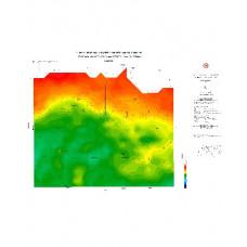 SİNOP paftası 1/500.000 ölçekli Rejyonal Gravite (Bouguer Anomali) Haritası
