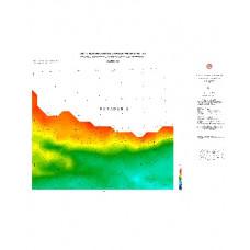 SAMSUN paftası 1/500.000 ölçekli Rejyonal Gravite (Bouguer Anomali) Haritası
