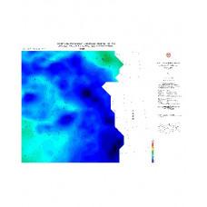 VAN paftası 1/500.000 ölçekli Rejyonal Gravite (Bouguer Anomali) Haritası