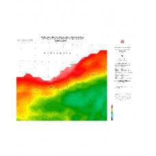 ZONGULDAK paftası 1/500.000 ölçekli Rejyonal Gravite (Bouguer Anomali) Haritası