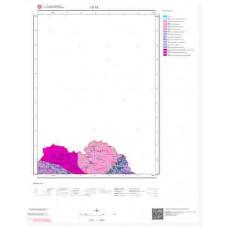 D 18 Paftası 1/100.000 ölçekli Jeoloji Haritası