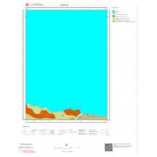 D30c3 Paftası 1/25.000 Ölçekli Vektör Jeoloji Haritası
