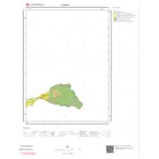 D34d3 Paftası 1/25.000 Ölçekli Vektör Jeoloji Haritası