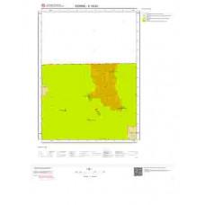 E16b3 Paftası 1/25.000 Ölçekli Vektör Jeoloji Haritası