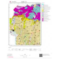 E 17 Paftası 1/100.000 ölçekli Jeoloji Haritası