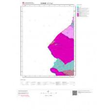 E17a1 Paftası 1/25.000 Ölçekli Vektör Jeoloji Haritası