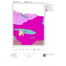 E17a2 Paftası 1/25.000 Ölçekli Vektör Jeoloji Haritası