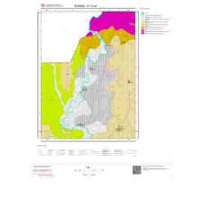E17a4 Paftası 1/25.000 Ölçekli Vektör Jeoloji Haritası