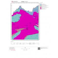 E17b1 Paftası 1/25.000 Ölçekli Vektör Jeoloji Haritası