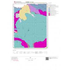 E17b2 Paftası 1/25.000 Ölçekli Vektör Jeoloji Haritası