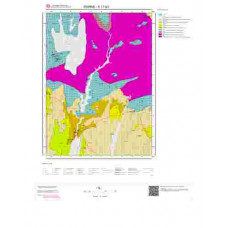 E17b3 Paftası 1/25.000 Ölçekli Vektör Jeoloji Haritası