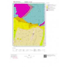E17b4 Paftası 1/25.000 Ölçekli Vektör Jeoloji Haritası