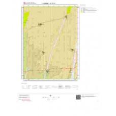 E17c1 Paftası 1/25.000 Ölçekli Vektör Jeoloji Haritası