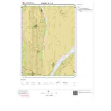 E17c3 Paftası 1/25.000 Ölçekli Vektör Jeoloji Haritası