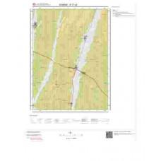 E17c4 Paftası 1/25.000 Ölçekli Vektör Jeoloji Haritası