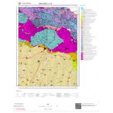 E 18 Paftası 1/100.000 ölçekli Jeoloji Haritası