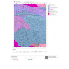 E18a2 Paftası 1/25.000 Ölçekli Vektör Jeoloji Haritası