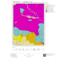 E18a4 Paftası 1/25.000 Ölçekli Vektör Jeoloji Haritası