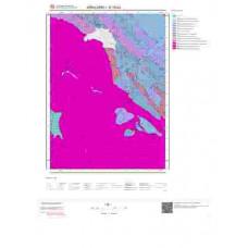 E18b3 Paftası 1/25.000 Ölçekli Vektör Jeoloji Haritası