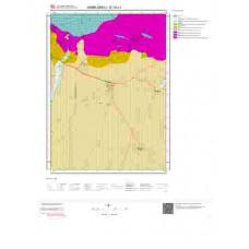 E18c1 Paftası 1/25.000 Ölçekli Vektör Jeoloji Haritası