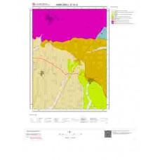 E18c2 Paftası 1/25.000 Ölçekli Vektör Jeoloji Haritası