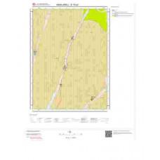 E18c3 Paftası 1/25.000 Ölçekli Vektör Jeoloji Haritası