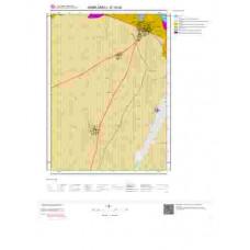 E18d2 Paftası 1/25.000 Ölçekli Vektör Jeoloji Haritası