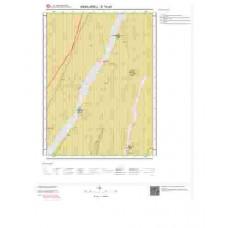 E18d3 Paftası 1/25.000 Ölçekli Vektör Jeoloji Haritası
