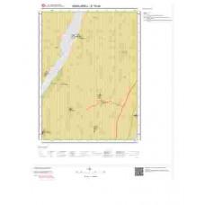 E18d4 Paftası 1/25.000 Ölçekli Vektör Jeoloji Haritası
