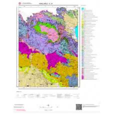 E 19 Paftası 1/100.000 ölçekli Jeoloji Haritası