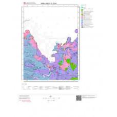 E 19-a1 Paftası 1/25.000 ölçekli Jeoloji Haritası