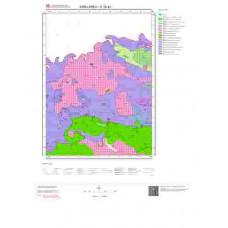 E19a2 Paftası 1/25.000 Ölçekli Vektör Jeoloji Haritası